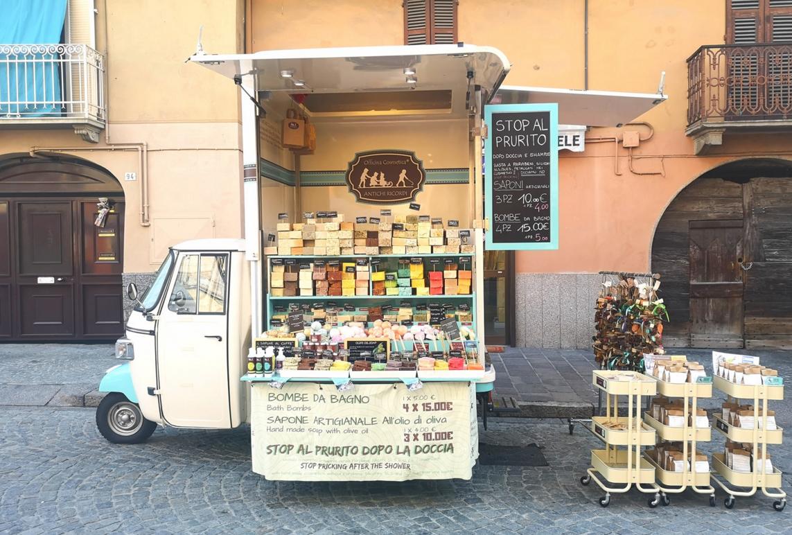 3 바퀴 커피 아이스크림 핫도그 모바일 빠른 전기 음식 손수레 Piaggio Ape
