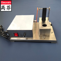 Single side electrical leather edge painting machine  for Belt Bags  easy to clean 220V