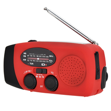 Self Powered AM/FM NOAA Solar Radio Mit Led-taschenlampe 1000mAh Power Hand Kurbel Dynamo Notfall Radio