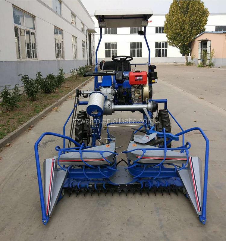 4 Wheels Bcs Diesel Wheat Reaper Binder Machine