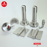 best selling stainless steel 304 toilet partition accessories