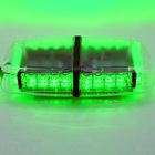 24w 12V 24V Green LED flashing magnet mounted warning mini light bar for patrol cars / traffic signal light