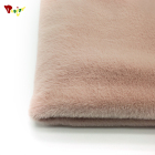 Hot Sale excellent soft faux rabbit fur 100% polyester Uneven cut Rabbit faux fur for rabbit fur coat