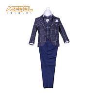 hot sale new design portable eco friendly breathable flat long pants kids suit