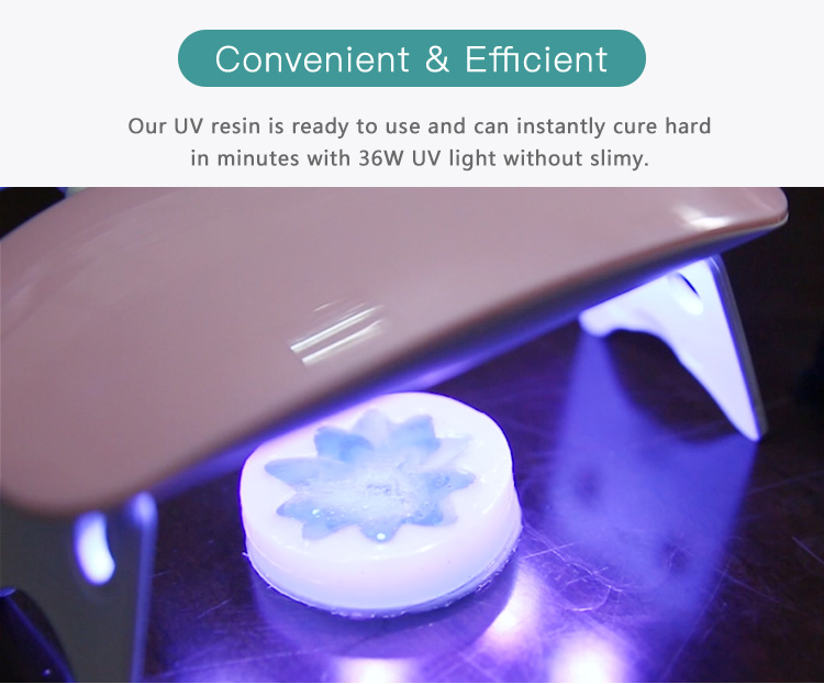 UV Resin 200g Crystal Clear Ultraviolet Curing Epoxy Resin for DIY Jewelry Making