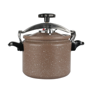Customized ceramic coating home kitchenware aluminium pressure cooker 28cm/12Liter
