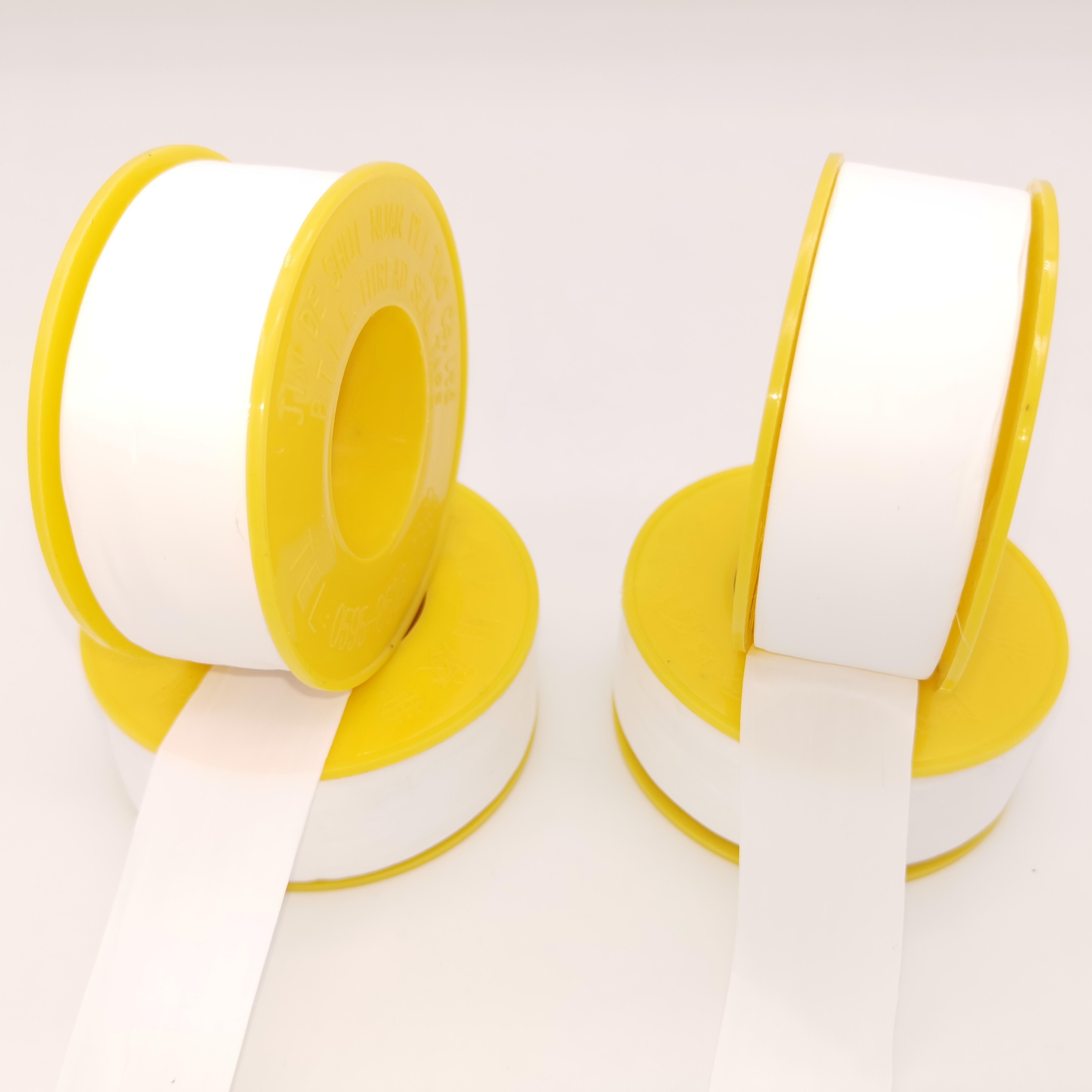 22mm anchura de cinta de ptfe rollo jumbo gaflon de rosca de tubería de sello