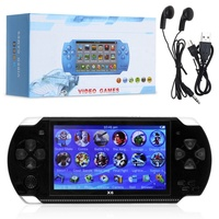 x6 Handheld Game Console 4.3 Inch Screen 32 bit Video Games Consoles