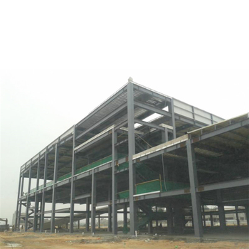 Hot sale billboard design sports hall hangar prefab homes multi-layer famous steel structure buildings