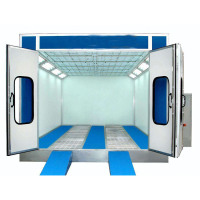 Multifunctional Auto Paint Room Automotive Spray Booth Car Body Painting Machine For Wholesales