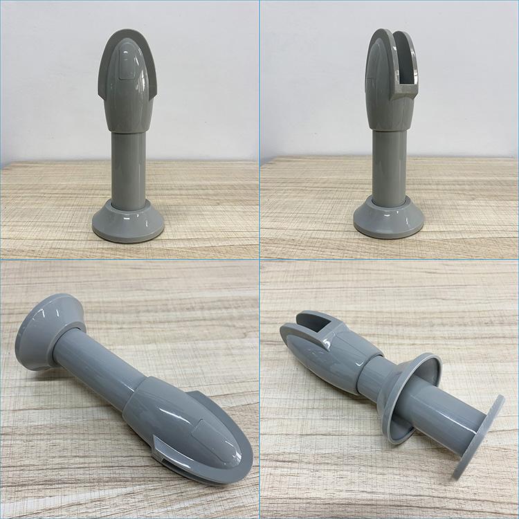 Wholesale Corrosion Resistance Durable Toilet Cubicle Partition Nylon Support Leg