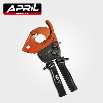 J40A Manual Ratchet Cable Cutter for Cutting 300mm2 Cu-Al Armored Cable