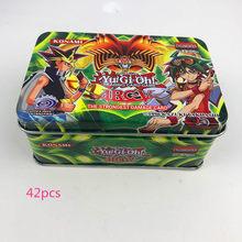 60 шт./компл. Yugioh Редкие флеш-карты Yu Gi Oh игровые бумажные карты детские игрушки для девочек и мальчиков коллекция Yu-Gi-Oh карты Рождественский п...(Китай)