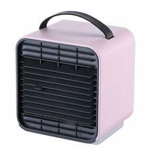 Мини-Кондиционер USB портативный воздушный охладитель, увлажнитель, очиститель, кулер, Персональный вентилятор, кулер для дома, быстрый охла...(Китай)