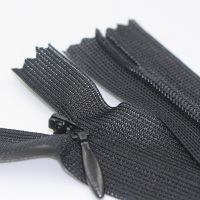 3# close end nylon teeth invisible zipper lace tape black/white/red/many color for Dress/Garment/Home Textile/Pillow/Bags