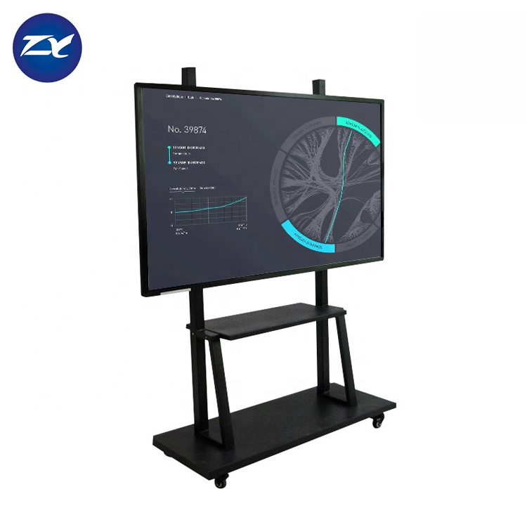 Alles in een pc portable usb vinger touch elektronische smart board interactive whiteboard voor meeting