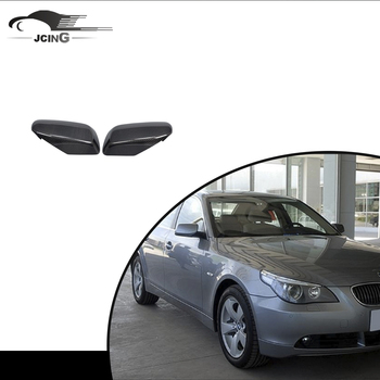 carbon car mirror cover for 2005-2008 BMW E60 OEM carbon full replacement mirror cover