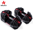 Family 80 Family Ftiness 80 LB Adjustable Dumbbell 40kg New With Stand