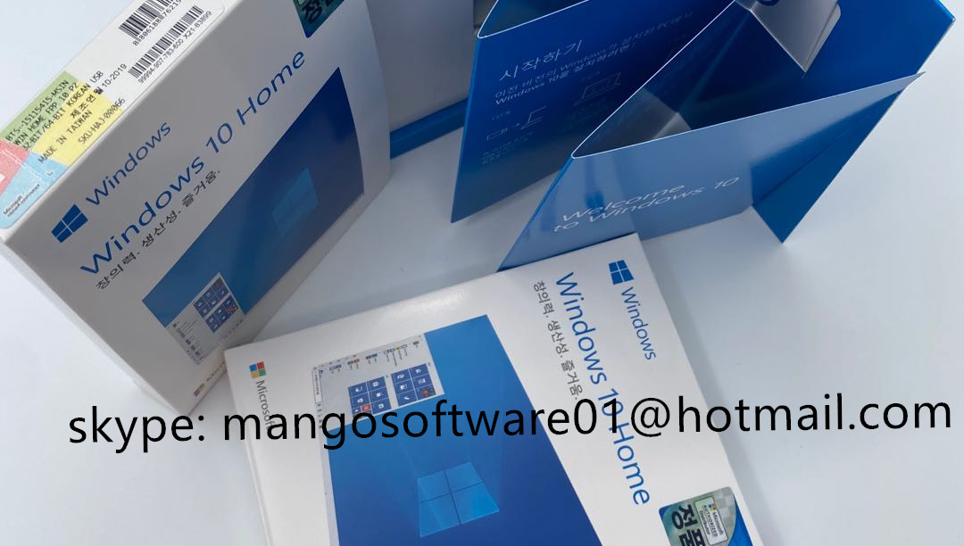 Amazon High Profit Bahasa Rusia Windows 10 Pro Kunci 32 / 64 Windows 10 Rus Usb Retail Fpp