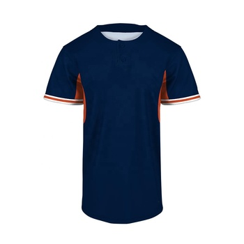 Custom 100% Polyester design your own plain costume baseball jersey shirts