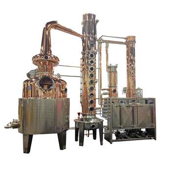 1000L-8000L Gin Vodka industrial alcohol distillation distillery equipment