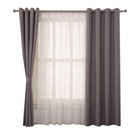 no MOQ latest designs grey office custom italian curtains pictures made in china