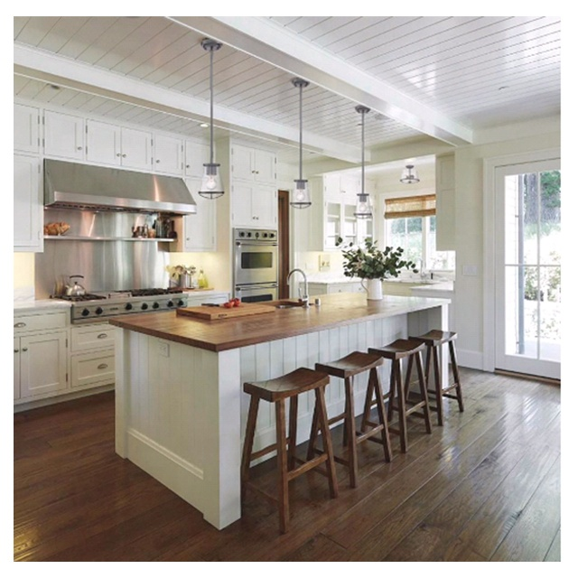 North American typical wholesale price modular modern design kitchen