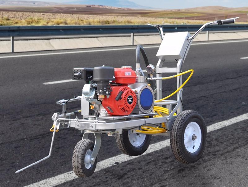 Дорожно-разметочная машина с вакуумным распылением