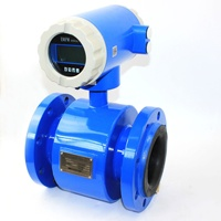 High accuracy sewage electric flowmeter with 4-20 mA output/ Waster water flow meter