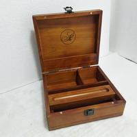 hot sale wooden tobacco box wood rolling tray stash box wooden stash case