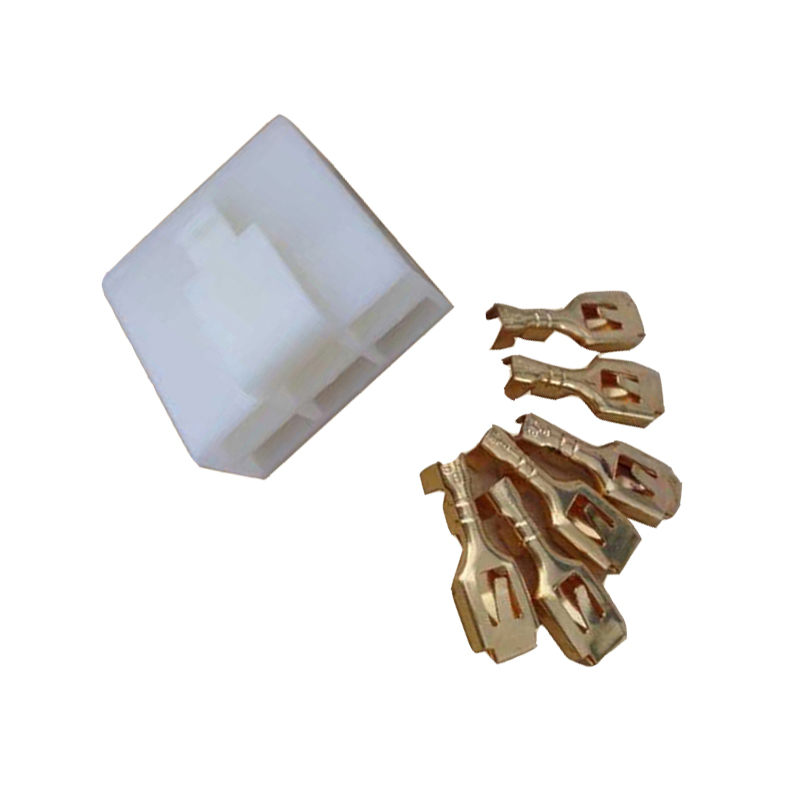 DJ7061-6.3-21 6 pin female motorcycle harness connector