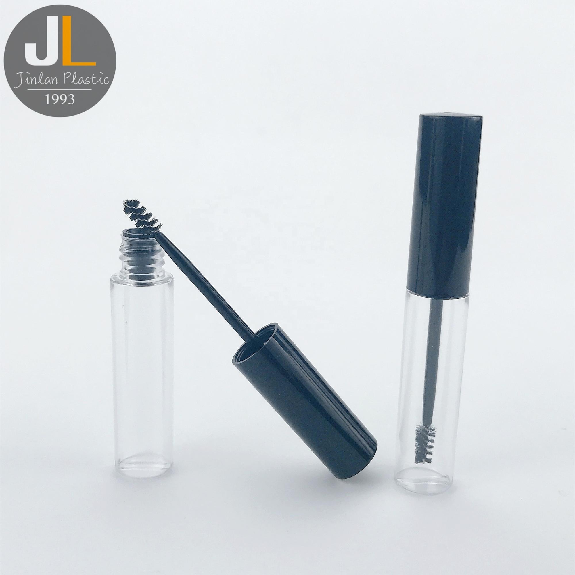 [5.5ml] Hot Sale Black Clear Plastic Mascara Tube