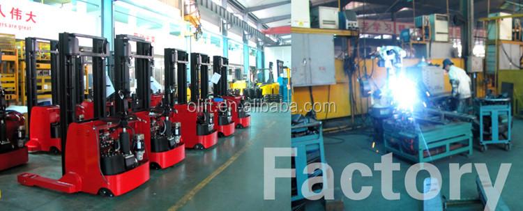 Haute qualité hydraulique semi-électrique empileur prix