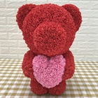 55cm rose bear teddy bear rose gift box for Valentine's Day Graduation and Weddings