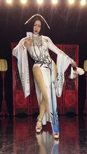 Красный Традиционный китайский национальный костюм длинное платье костюм вечернее платье для празднования дня рождения сексуальное плать...(Китай)