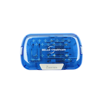 Whosale Blue Plastic Professional Portable Medical Cataract Surgical Instruments Cataract Instrument Disinfection Box