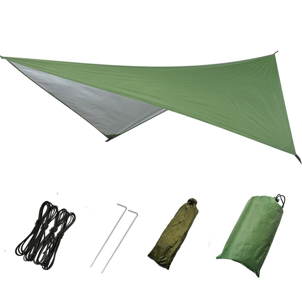 Leve Camping Sombrinha Rede Chuva Fly Tarp Tenda À Prova D' Água Para A Rede