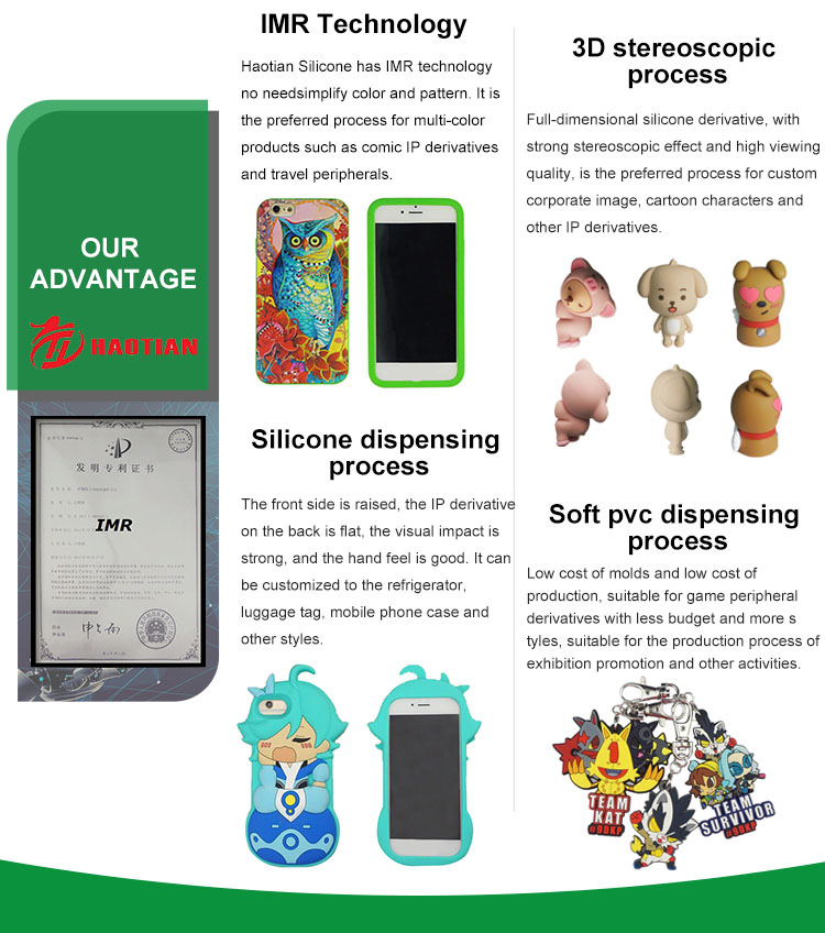 Custom game anime cartoon universal silicone cell phone case