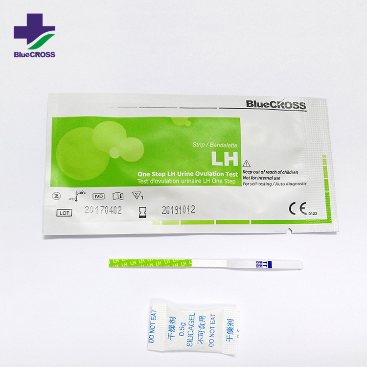 Medical Rapid Prediction Product Home One Step LH Ovulation Paper and HCG Ppregnancy Test Kit