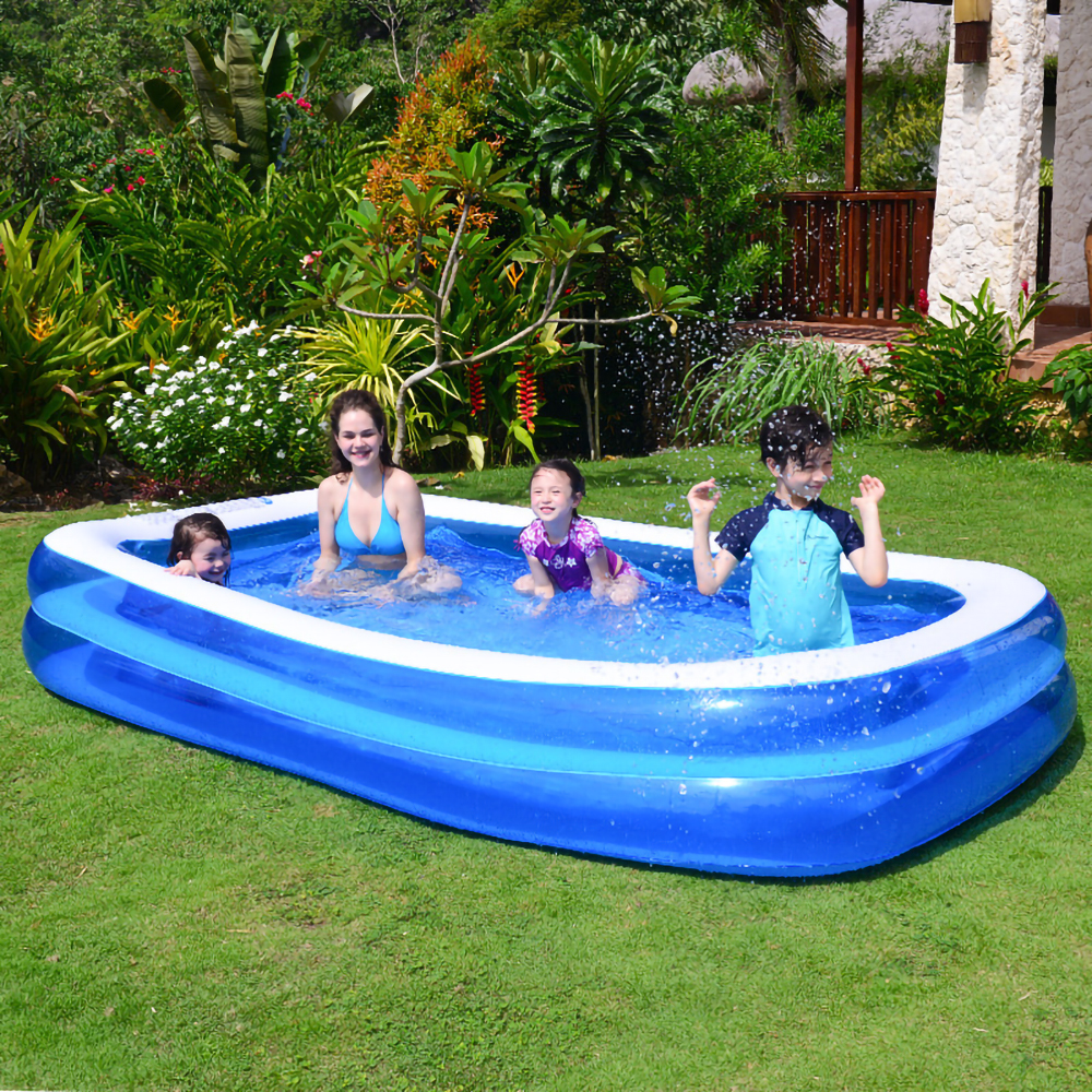 1-7 people family inflatable swimming pool large indoor outdoor swimming pool adult child house garden PVC swimming pool