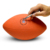 3 sizes choose adult tennage kid custom american football cheap rubber rugby promotional football