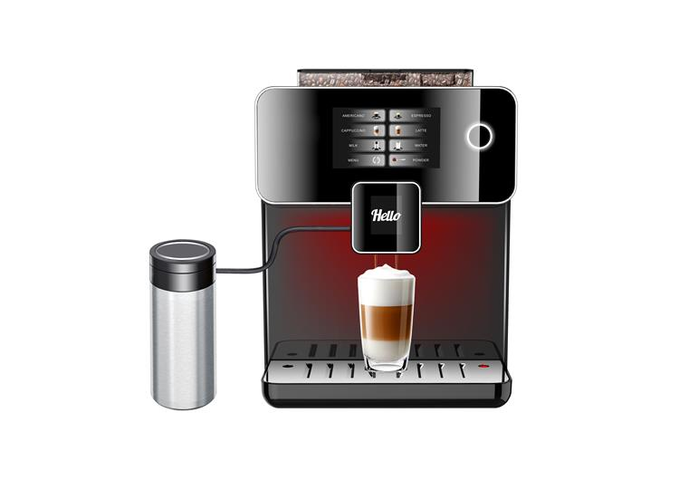 19bar Espresso coffee maker with grinder auto coffee maker