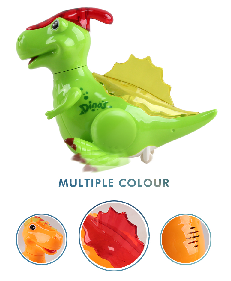 Battery operation music flashing light plastic realistic sound toys dinosaurs