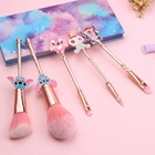Soft bristle private label Cartoon design gold wholesale Stitch Beauty Cosmetics Makeup Brush Set