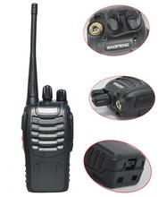 Baofeng <span class=keywords><strong>BF</strong></span>-888S Walkie Talkie Radio BF888s 5W 16 Channel UHF 400-470MHz HAM Comunicador Transmitter Transceiver
