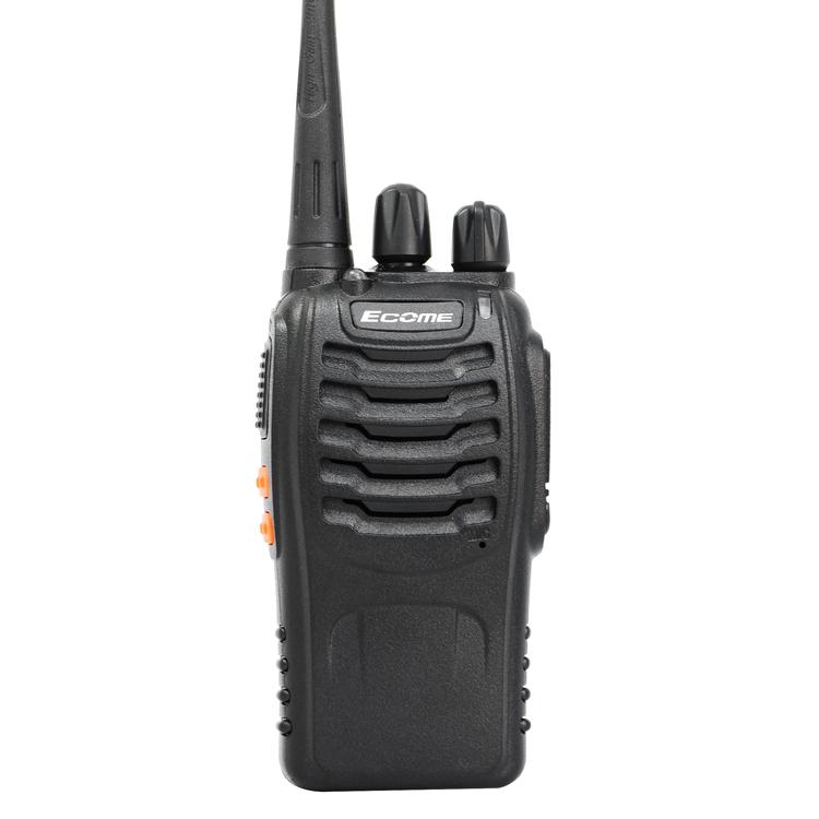 Hohe qualität Ecome ET-77 UHF Professionelle langstrecken tragbare Walkie talkie