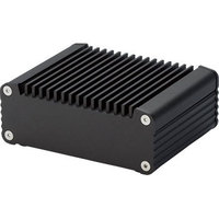 OEM supplier custom high quality CNC milling black anodize heat sink aluminum case
