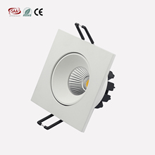 CE & Rohs SAA 7 W 9 W COB <span class=keywords><strong>Quadrato</strong></span> led downlight Da <span class=keywords><strong>Incasso</strong></span>, ritaglio 78mm