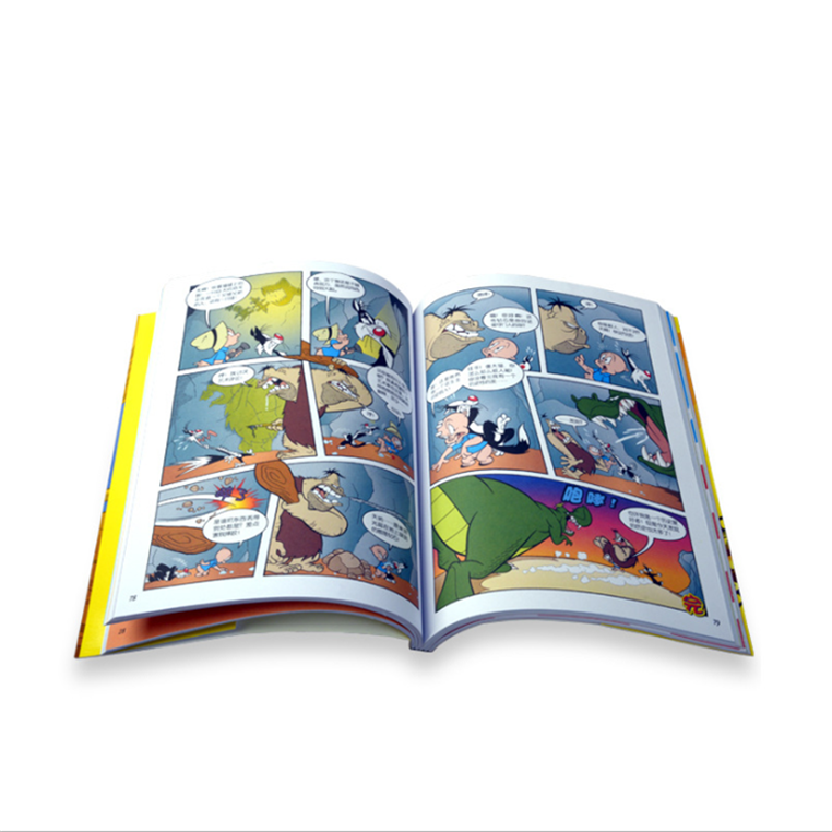 Sliding board book printing on demand,Chinese children's board books printing