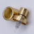 15mm aluminium gold silver  perfume crimp sprayer pump with collar and cap
